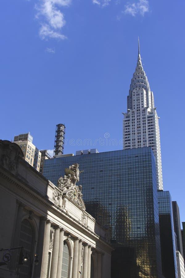 Empire State Building e stazione di Grand Central fotografie stock