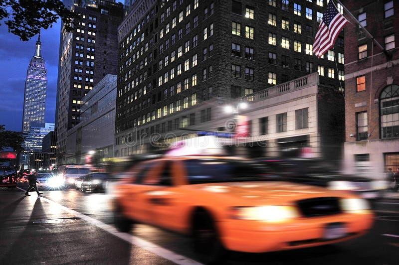 Empire State Building en Manhattan Nueva York fotos de archivo libres de regalías