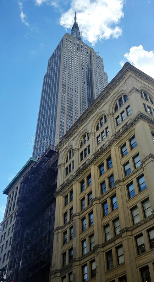 Empire State Building Manhattan, Miasto Nowy Jork obraz stock