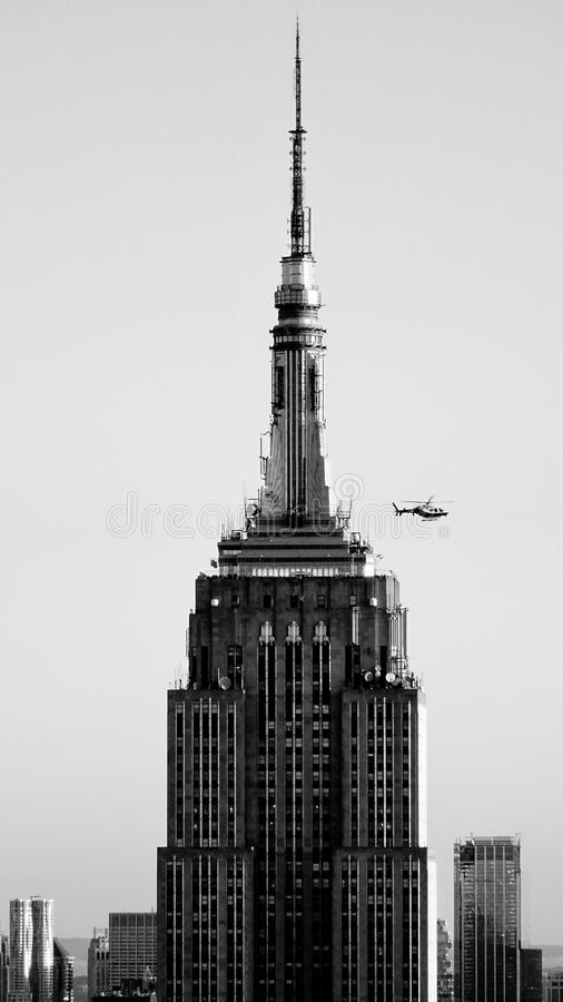 Empire State Building, Manhattan, New York stockfoto