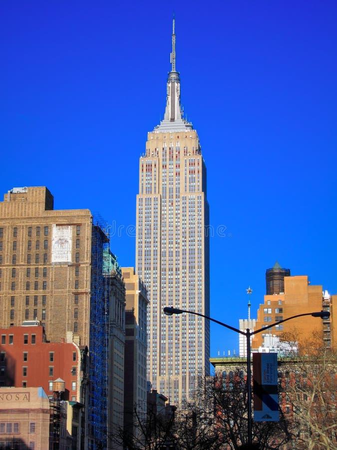 Empire State Building, Manhattan, New York City fotografia de stock royalty free