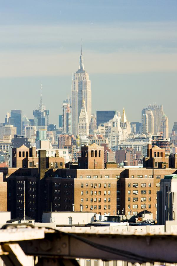 Empire State Building Manhattan, New York City, USA royaltyfri fotografi