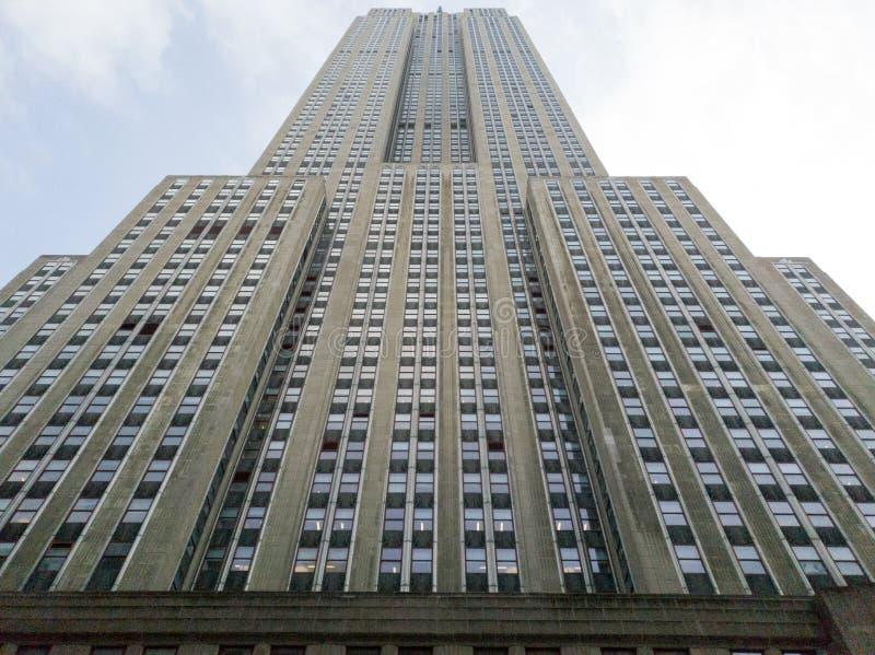 Empire State Building, Manhattan, Nowy Jork ilustracja wektor
