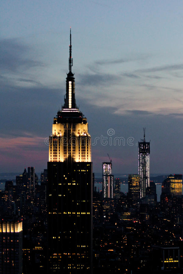 Free Empire State Building, Manhattan, NYC Stock Photo - 27598590