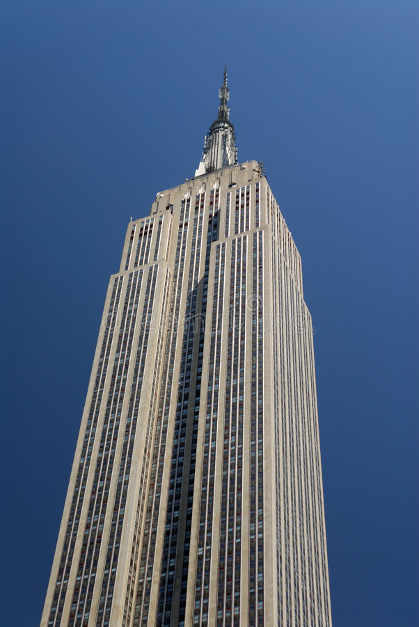 Empire State Building, New York. Empire State Building in New York City stock image