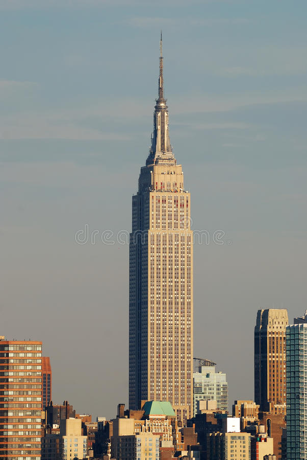 Empire State Building, New York City fotos de stock
