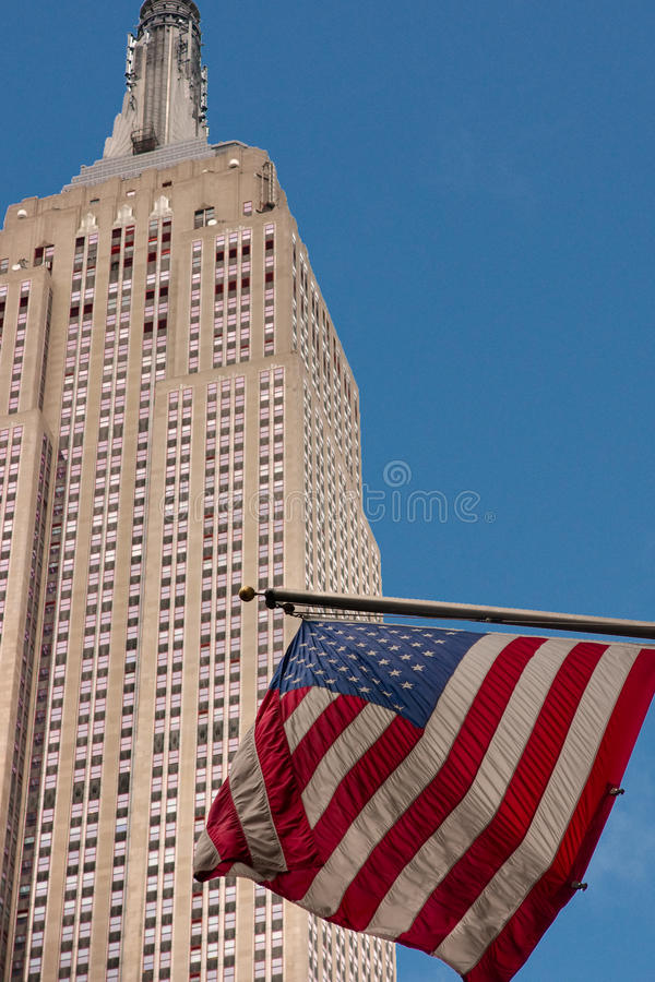 Empire State Building, New York City. View of the Empire State Building, New York City NYC, USA royalty free stock image