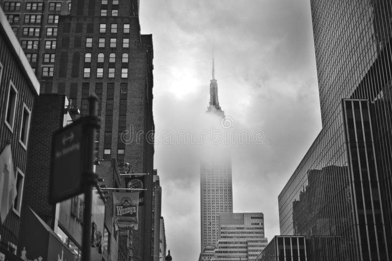 Download Empire State Building editorial stock photo. Image of hockey - 32453673