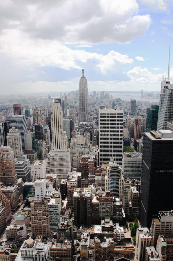 Empire State Building, New York (Manhattan, U.S.A.) fotografie stock libere da diritti
