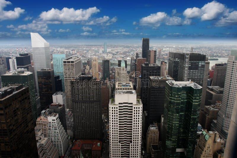 Empire State Building New York (Manhattan, USA) arkivbild