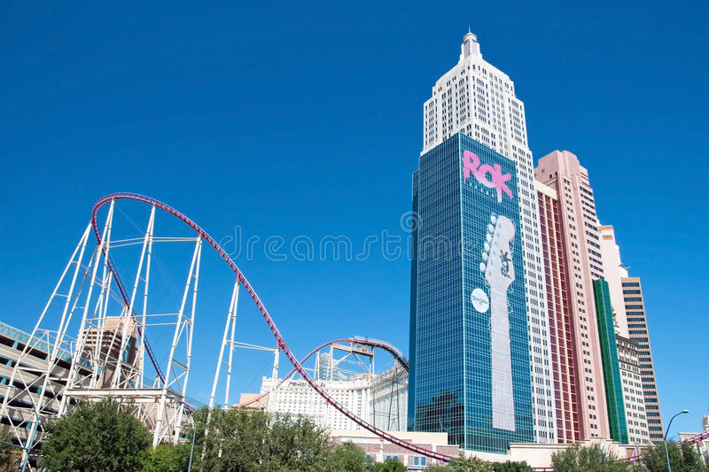 Download Empire State Building In New York-New York On The Las Vegas Stri Editorial Stock Image - Image: 30510874