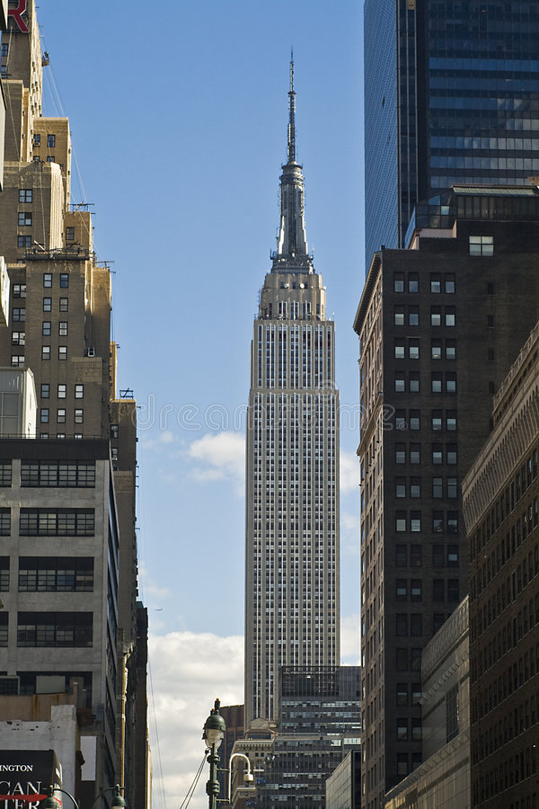 Empire State Building, NYC stock photo