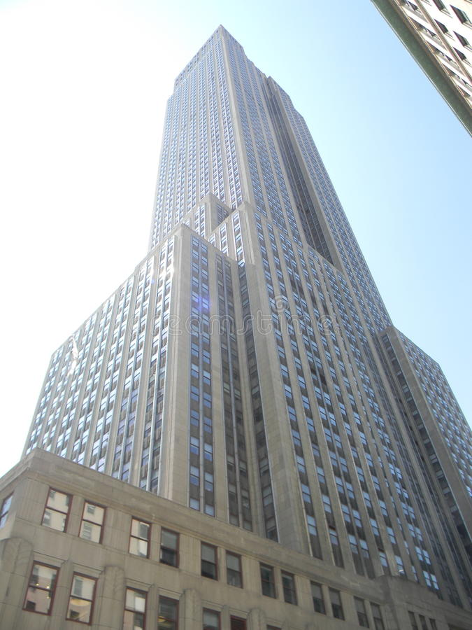 Empire State Building, NYC stockbilder