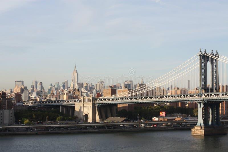 Empire State Building, passerelle de Manhattan photographie stock