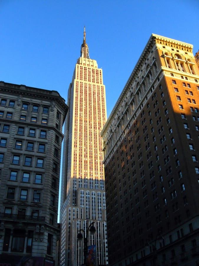 Empire State, Nueva York fotos de archivo libres de regalías