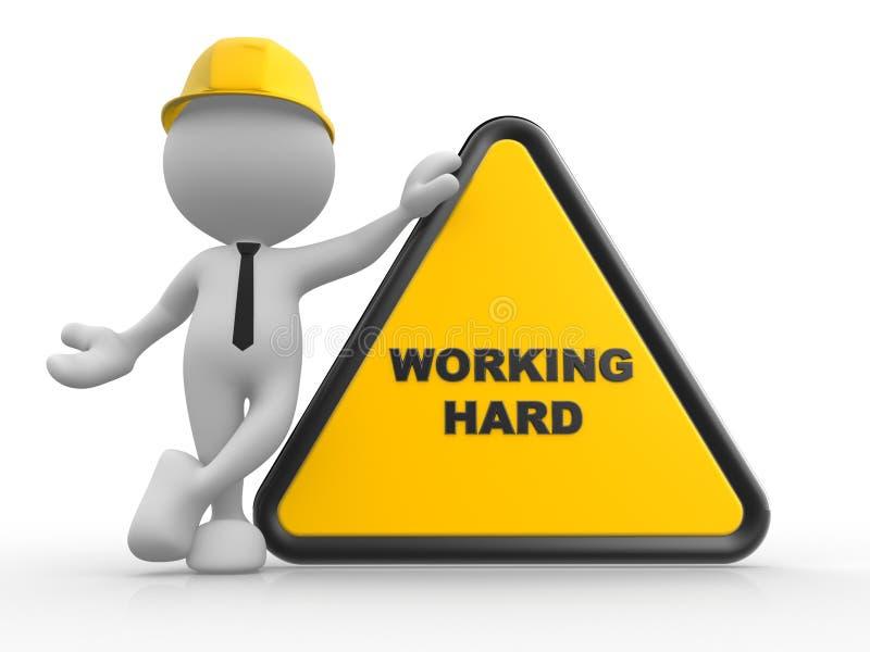 Emplacement de travail illustration libre de droits