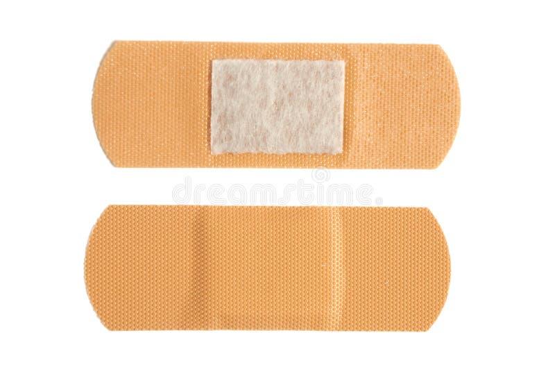 Emplastro adesivo bactericida foto de stock