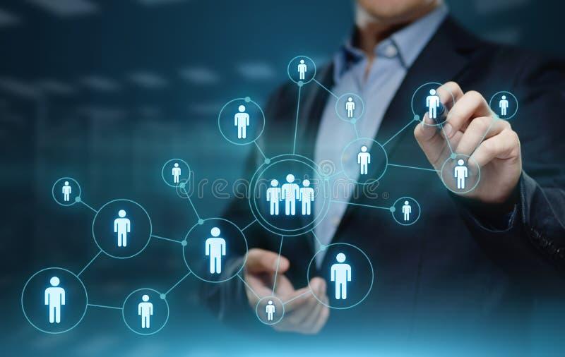 Empleo del reclutamiento de la gestión de la hora de los recursos humanos que busca concepto fotos de archivo