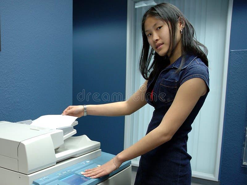 Download Employé de bureau image stock. Image du vietnamien, personne - 63833