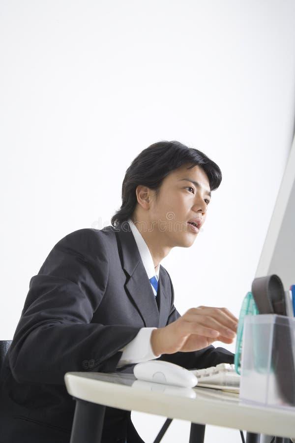 Employé de bureau japonais image stock
