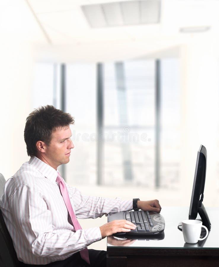 Employé de bureau - mâle images stock
