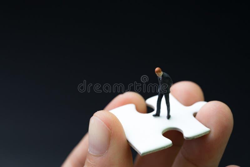 Employé de direction, développement de la vie professionnelle ou travail trouvant la personne Co images stock