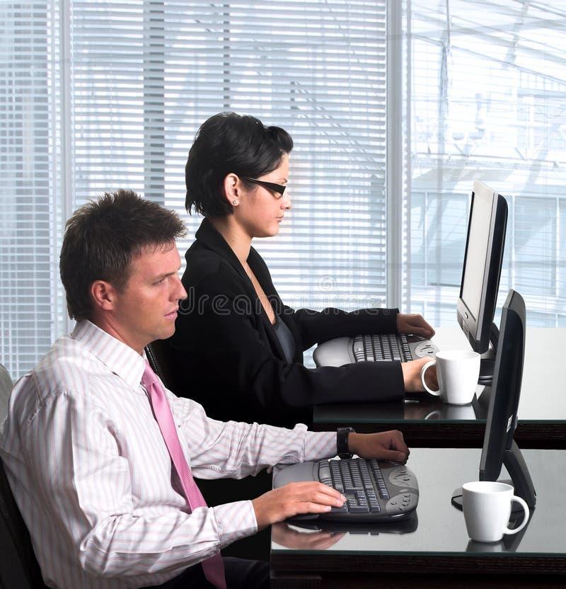 Employés de bureau image libre de droits