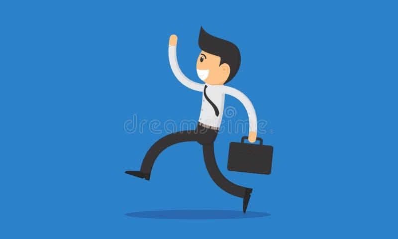 Employés heureux image stock