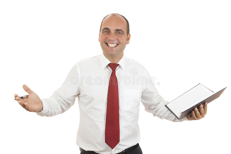 Employee royalty free stock photo