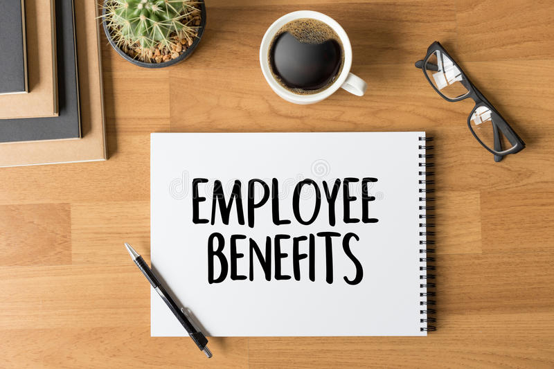 EMPLOYEE BENEFITS TECHNOLOGY COMMUNICATION definition highlight royalty free stock photography