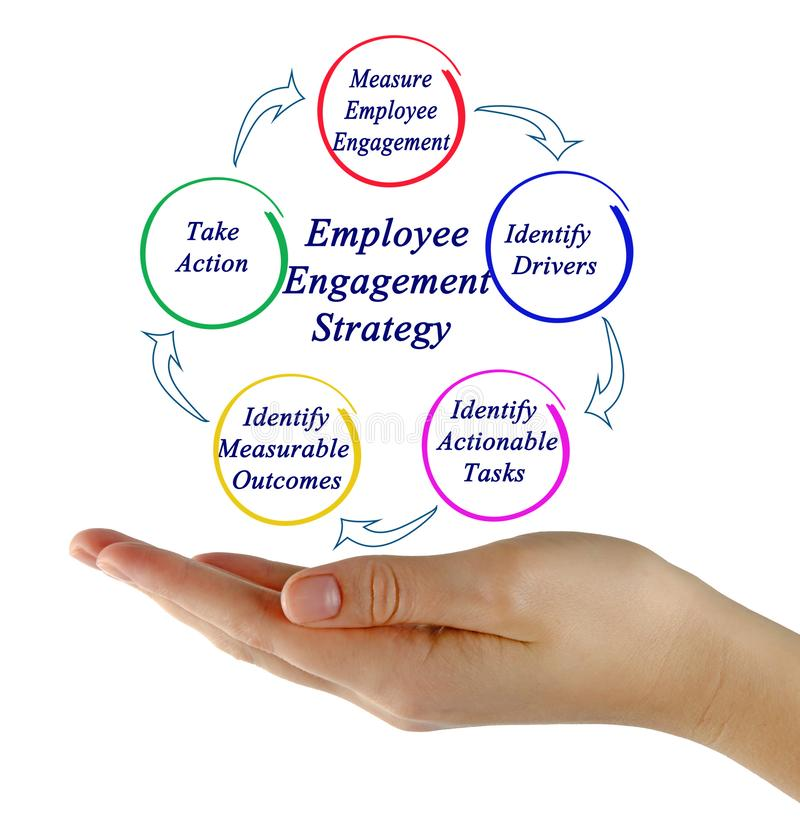 Employee Engagement Strategy stock photos