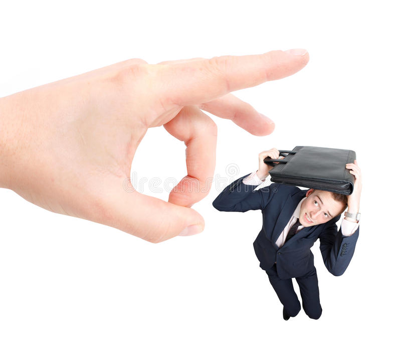 Employee getting fired stock images