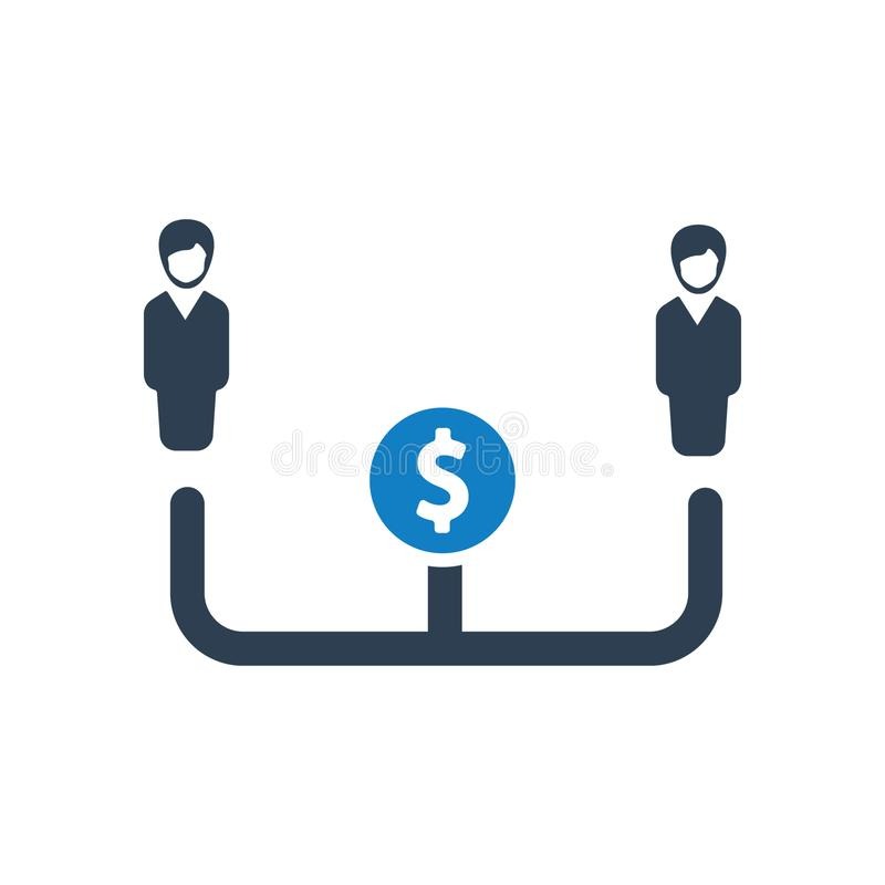 Employee management, Organizational Structure icon. You can use this icon any kind of web and print design vector illustration