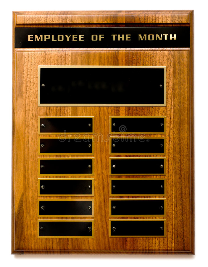 Download Employee Of The Month Award Stock Image - Image: 4198883
