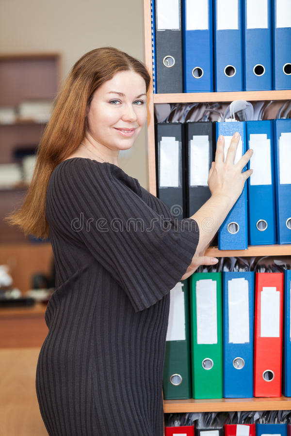 Employee In The Office Stock Photos