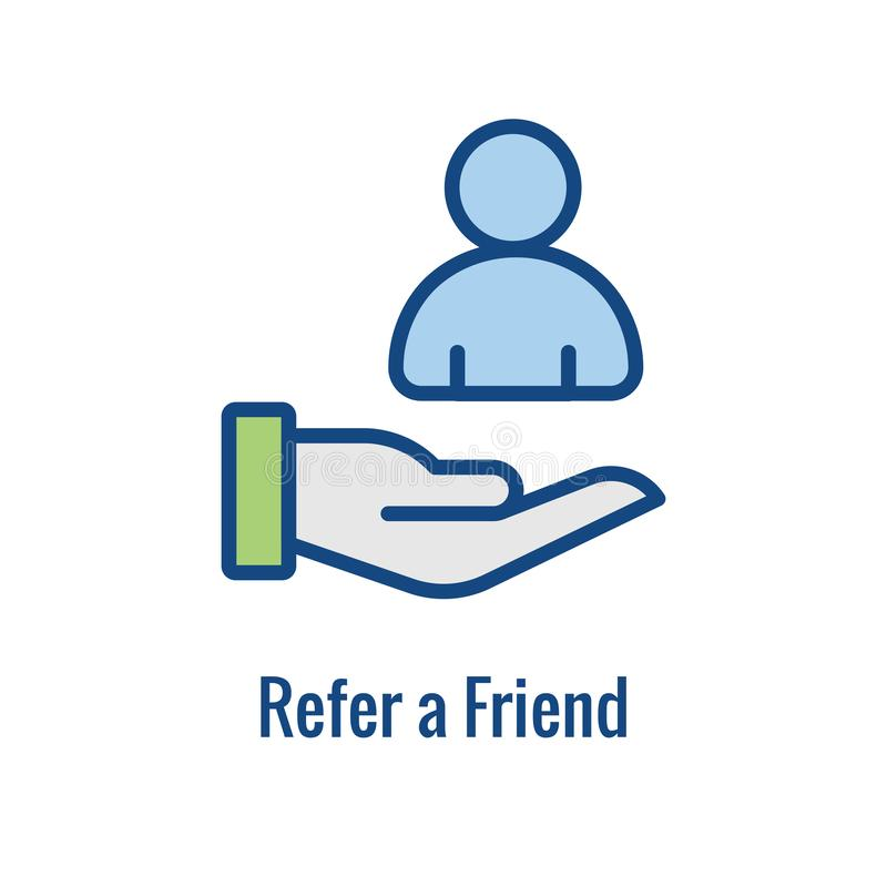 Free Employee Referral Process Icon - Networking, Recommendation, And Reference Royalty Free Stock Photos - 160106018
