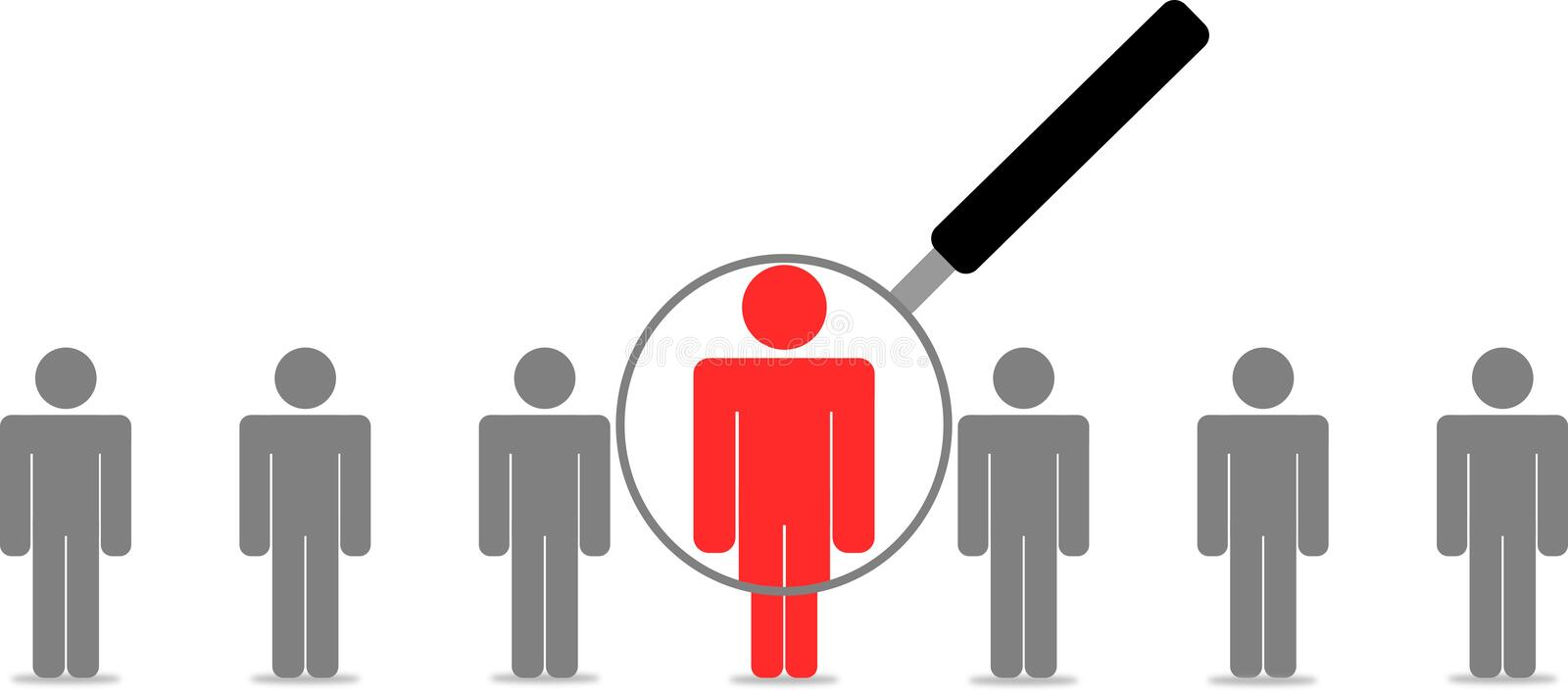 Employee Search Stock Images