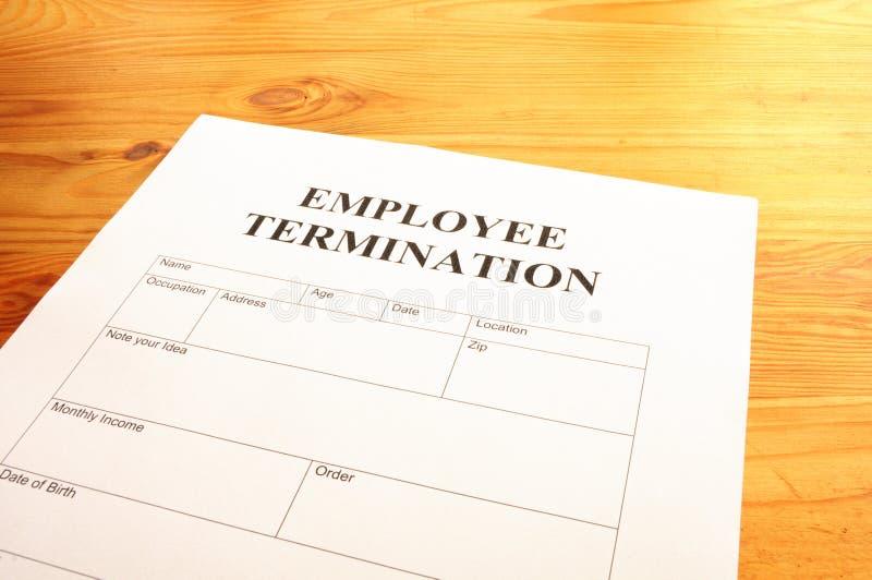 Employee Termination Royalty Free Stock Image
