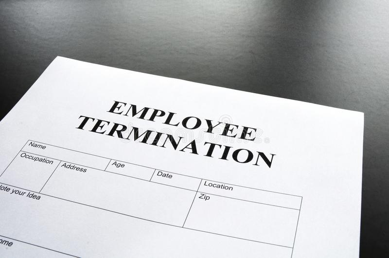 Download Employee termination stock image. Image of recruitment - 14492753
