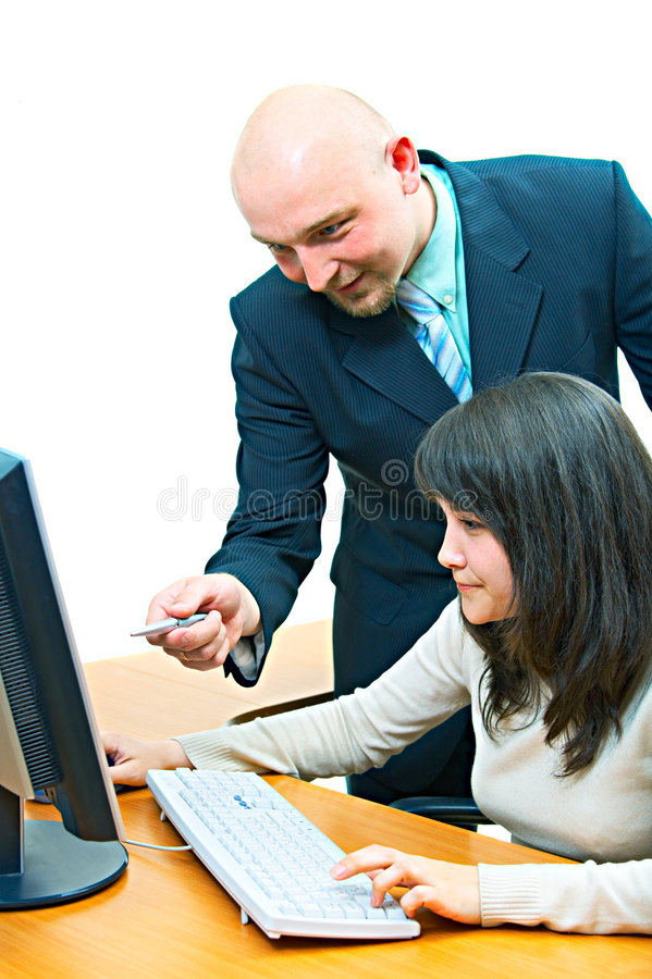 Free Employees In Office Stock Photo - 5362540