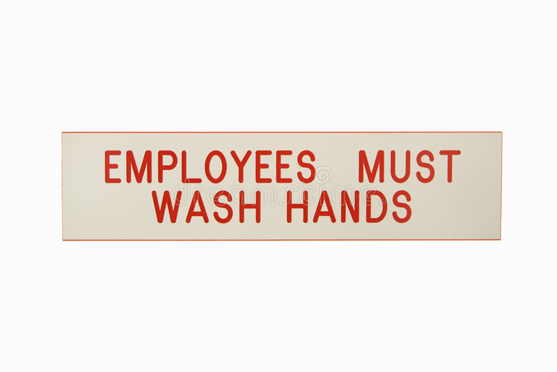 Download Employees Wash Hands. Royalty Free Stock Photo - Image: 3532485