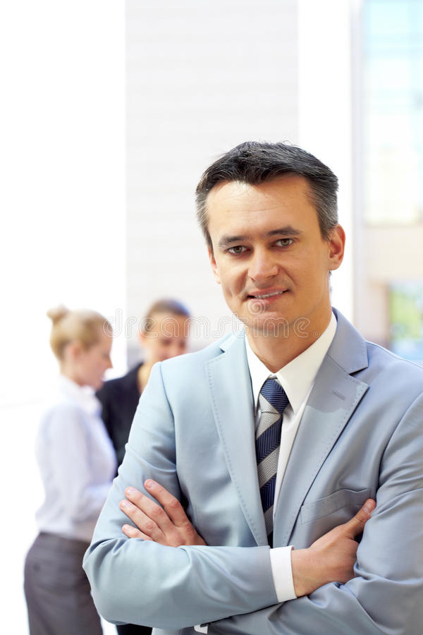 Download Employer stock photo. Image of colleague, female, businessmen - 22208146