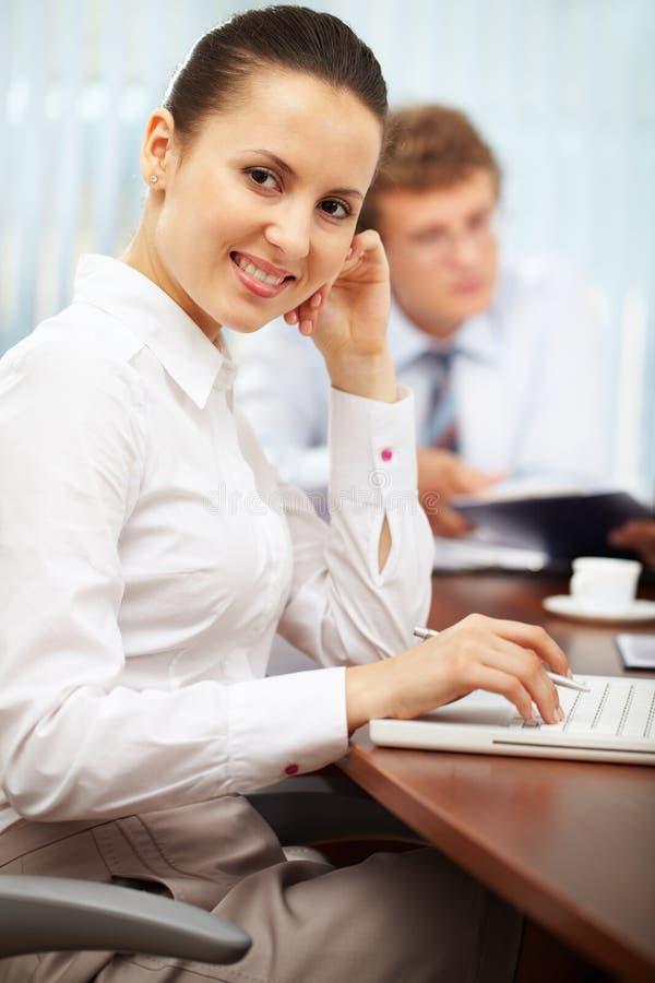 Download Employer stock photo. Image of employer, lady, keypad - 22620406