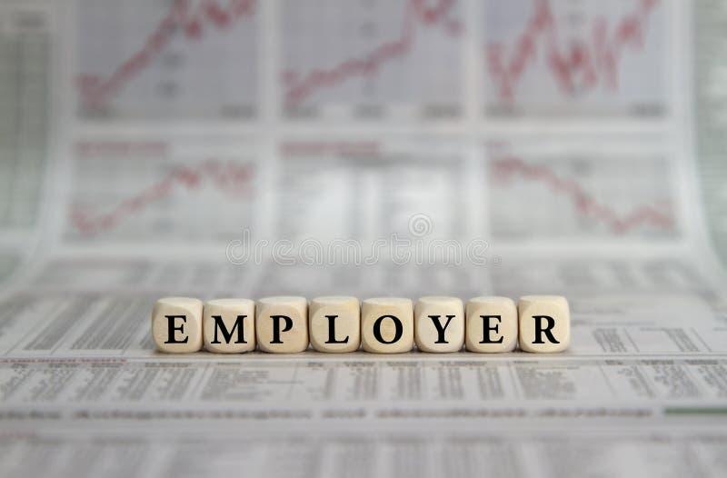employer fotografia stock