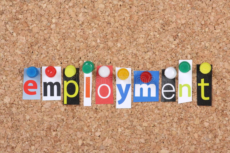 Employment royalty free stock photography