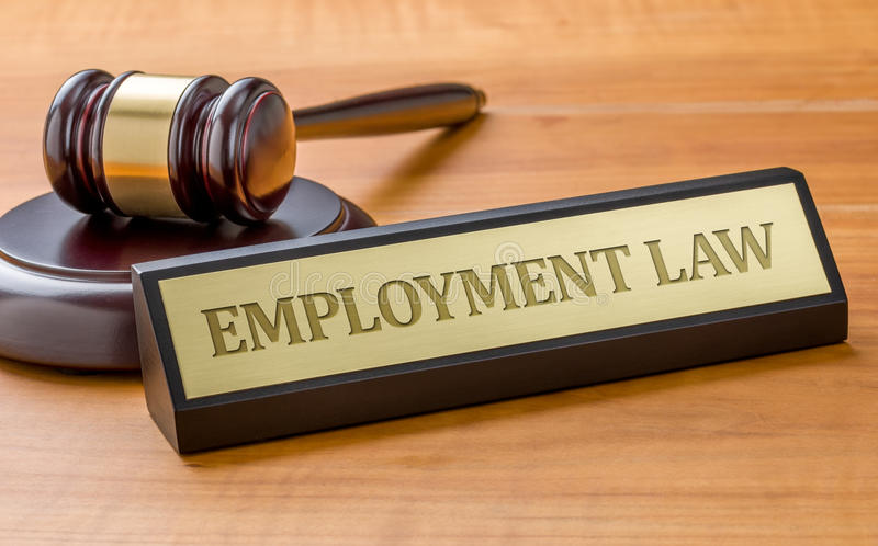 Employment Law royalty free stock photos