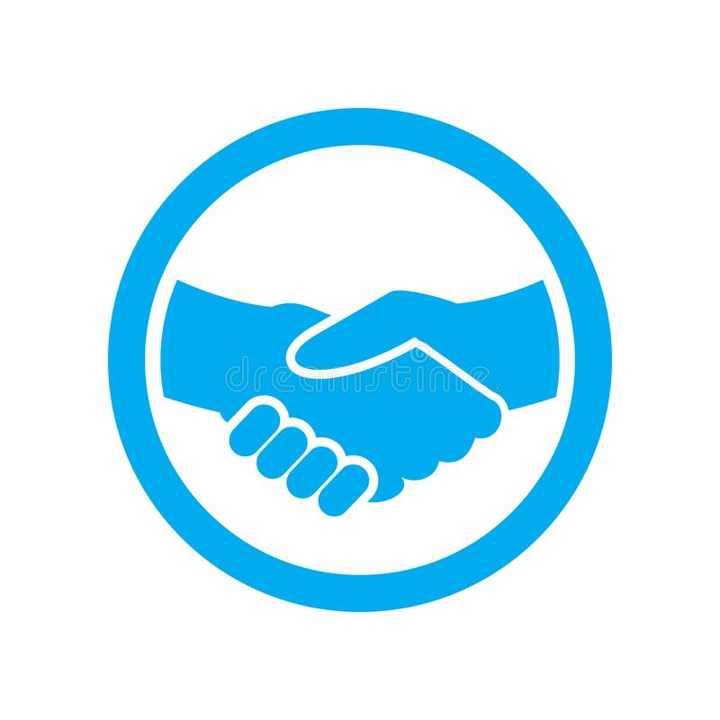 Employment Partnership Symbol Logo Icon Design. Employment Partnership Vector Symbol Graphic Logo Icon Design stock illustration