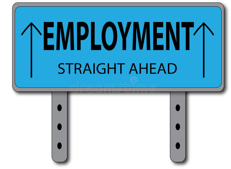 Download Employment Sign Concept Royalty Free Stock Photography - Image: 29534327