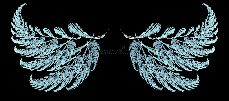 Emplume las alas libre illustration