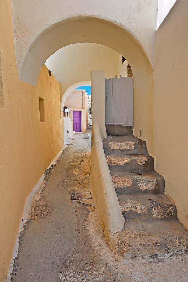Emporio, Santorini, Grécia fotografia de stock royalty free